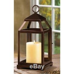 10 Bronze Contemporary Candle Holder Lantern Wedding Table Centerpieces New