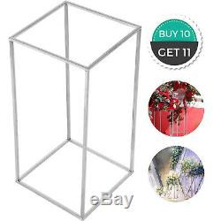 10pcs Geometric Metal Stands Flower Vase Holders Wedding Party Home Centerpieces