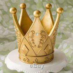 12 Princess Gold Crown Mis Quince Sweet 16 Birthday Party Gift Table Favors