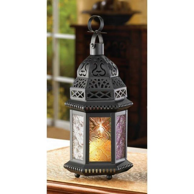 15 Magic Rainbow Moroccan Candle Holder Lanterns Wedding Table Centerpieces New