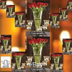 15 Table top Candleholder Wedding Centerpieces with Vase