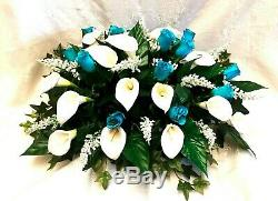 2ft Table Centerpiece Wedding Artificial Silk Flowers Calla Lily Roses Party