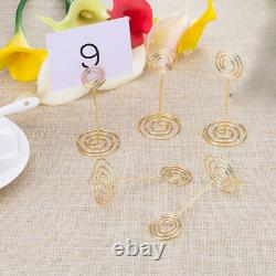 30X12 Pack Table Number Card Holders Photo Holder Stands Place Paper Menu