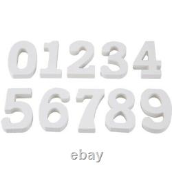 30XWedding Decoration Wooden Numbers Wooden Numbers Decorative Crafts Table