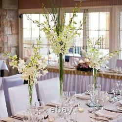 36 Eiffel Tower Wedding Glass Vases for Table Decor- 6 PCS-Clear