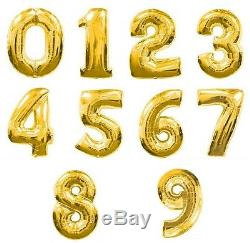 40 Table Numbers Floating Balloon For Wedding Centerpieces Birthday Party Decor