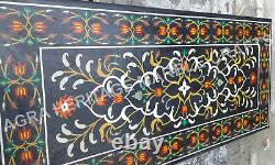 5'x3' Marble Conference Center Table Top Marquetry Inlay Centerpiece Decor E339