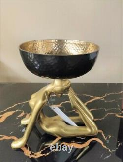 Art Age Decorative Lady Bowl Table Centerpiece Gifting Home Serving