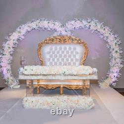 Artificial Flower Rows Rose Peony Table Centerpiece Wedding Party Home Decors