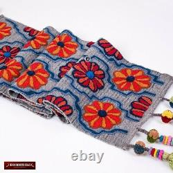 Blue table runner from Peru, Home Decor Table Centerpiece, Kitchen Table cover