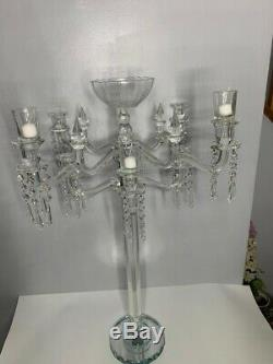 Candelabra Candeholder, weding table center piece, table decorator