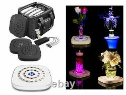 Chauvet Freedom Centerpiece (4) Wireless Battery-Powered Floral Table Up-lights