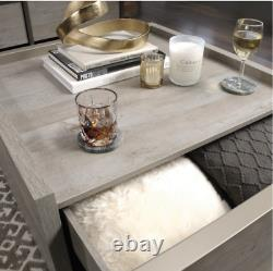 Coffee Table With Storage Centerpiece Living Room Furniture Shabby Chic Farmhouse