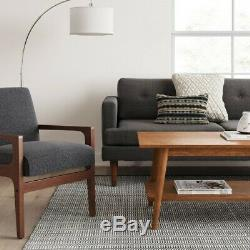 Coffee Table Wooden Centerpiece Mid Century Modern Home Decor Furniture Brown