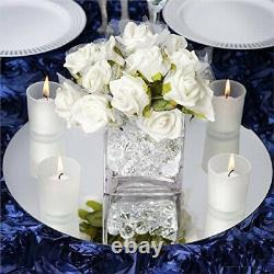 Efavormart 36cm Round Glass Mirror Wedding Party Table Decorations