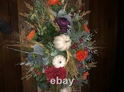 Fall handmade floral table centerpieces-8