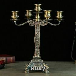 Five-arms Candlestick Stand Holders Table Centerpiece Home And Event Decorations