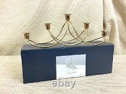 Georg Jensen Candlestick Gold Candle Holder Table Centrepiece Harmony RRP £125
