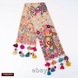 Handmade table runner from Peru, Table linens wedding, table wide Centerpiece