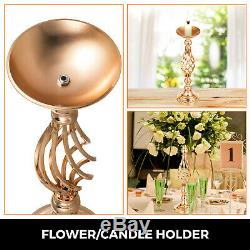 Metal Wedding Flower Table Decor Candle Holder Vase Centerpiece Stand 18.6 Inch