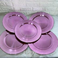 Purple and Pink Vibrant Charger Plates Home, Event, Wedding Table Decor