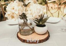 Set of 10 10 inch wood slices! Wedding table decor, Wood centerpieces, wood ch