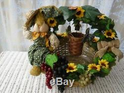 Summer Sunflower Table Centerpiece, Country Wedding Decor, Mothers Day Gift
