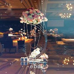 Table Centerpiece Decor Flower Rack With Metal Rod Wedding Party Decorations New