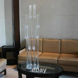 Table Centerpiece Road Guide Reed Light Acrylic Transparent Home Party Decors