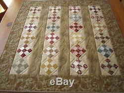 Table Topper Quilted Traditional Centerpiece Handmade Gift