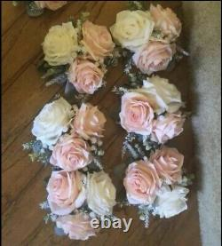 Wedding Decor, Floral Table Toppers, Cake Topper