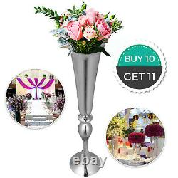 Wedding Flower Stand Rack Vase 10pcs Metal Candle Stand 29.5 Table Centerpieces