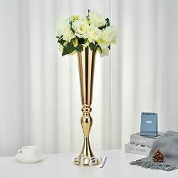 Wedding Flower Vase Gold Wedding Table Centerpiece for Artificial for
