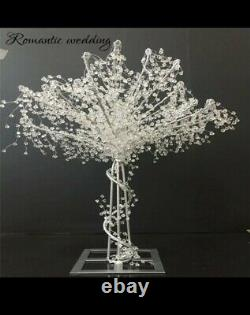 Wedding Table Centerpieces pink light up tree with butterflies Uk