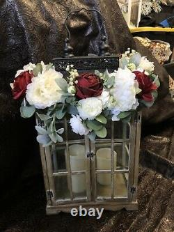 Wedding table decorations flowers